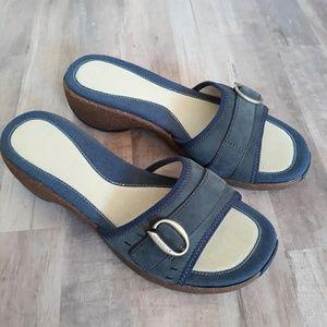 Merrell Sundial Navy Slide Sandals